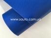 4D карбон синий, высокое качество, микроканалы, под лаком ширина 1,52м. № 5