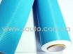 Голубой карбон 3d, пленка карбоновая для авто 1,52м. № 3