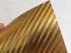 Золотая карбоновая пленка 3D хром, Carlux+ ширина 1.52м. № 3