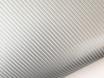 4D карбон серебро, высокое качество, микроканалы, под лаком ширина 1,52м. № 1
