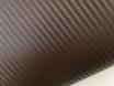 Коричневый карбон 3D, карбоновая коричневая пленка 1,27м. № 1