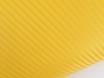 Карбоновая пленка желтая, ярко-желтый карбон 3D № 1