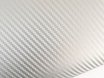 Карбоновая пленка лучшая цена, серебро для авто ширина  (1,27м) № 1