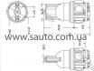 Светодиодная лампа для габаритных огней на 5 LED диодов, T10-5SMD № 5
