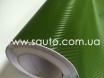 Карбоновая пленка зеленая, темоно-зеленый армейский карбон 3D № 2