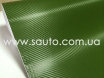 Карбоновая пленка зеленая, темоно-зеленый армейский карбон 3D № 3