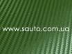 Карбоновая пленка зеленая, темоно-зеленый армейский карбон 3D № 4