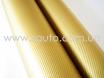 Золотая пленка под карбон 3D TR1  № 3