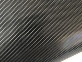 Карбоновая пленка 4D карбон черный, высокое качество микроканалы, карбон под лаком ширина 1,52м.