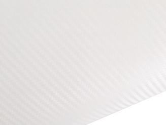 Белый карбон 3D TR1 technology racing