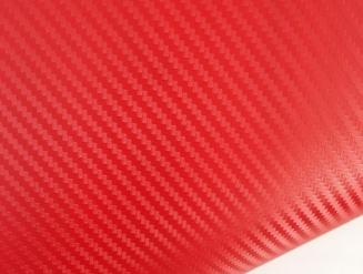 Красный карбон 3D TR1 technology racing