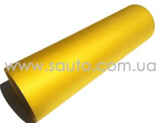 Пленка для фар алмазная крошка желтая