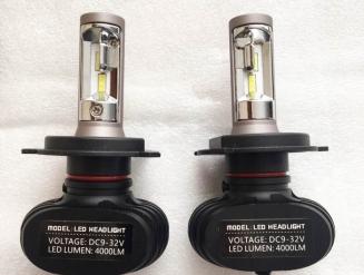 H4 купить LED лампы на авто светодиодные, G9 (CSP +30%) сверх яркие 4000lm.