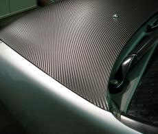 Профиссиональная оклейка автомобиля виниловой пленкой карбон 3D, матовой, пленко
