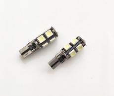 Светодиодная лампа T10 Canbus  в габариты с обманкой 9 Led