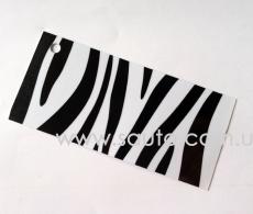 Виниловая глянцевая пленка шкура зебры МС5117