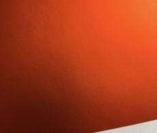 Хром мат оранжевый пленка для авто самоклеящаяся, ширина 1.52м.