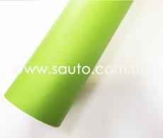 Зеленая (салатовая) самоклеющаяся пленка, Boduny ПВХ, 1.06м.