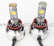 Сверхяркие лампы H8 и H11 диоды CREE яркость 3200 люмен в Украине