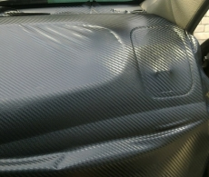 Оклейка автомобиля пленкой карбон